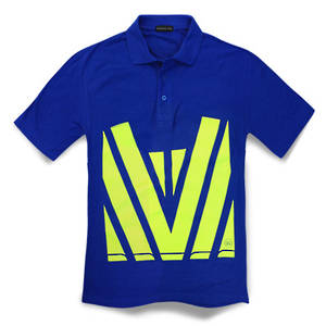 Hi Vis Polycotton Polo Shirt