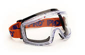 3700 Series Clear Googles - Anti Scratch