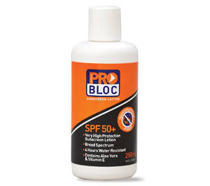 SPF 50+ ProBloc Sunscreen 250ml Bottle SS250-50